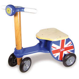Union Jack Scooter Tricycle by Vilac