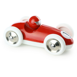 Red Roadster Wooden Toy Car