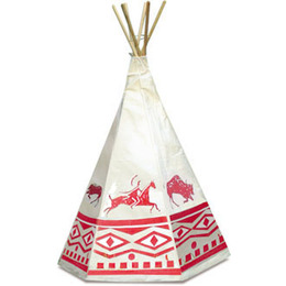 Indian Teepee, Ethnic Printing by Vilac