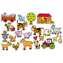 Kids Farm Magnets by Vilac