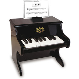Black Piano with Scores by Vilac