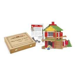 Barn - 135 Piece Wooden Construction Set