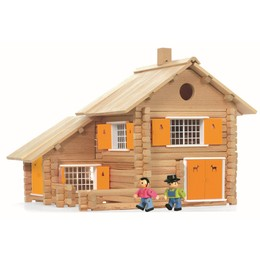 House - 240 Piece Wooden Construction Set