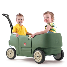 Wagon For Two Plus Willow - Green